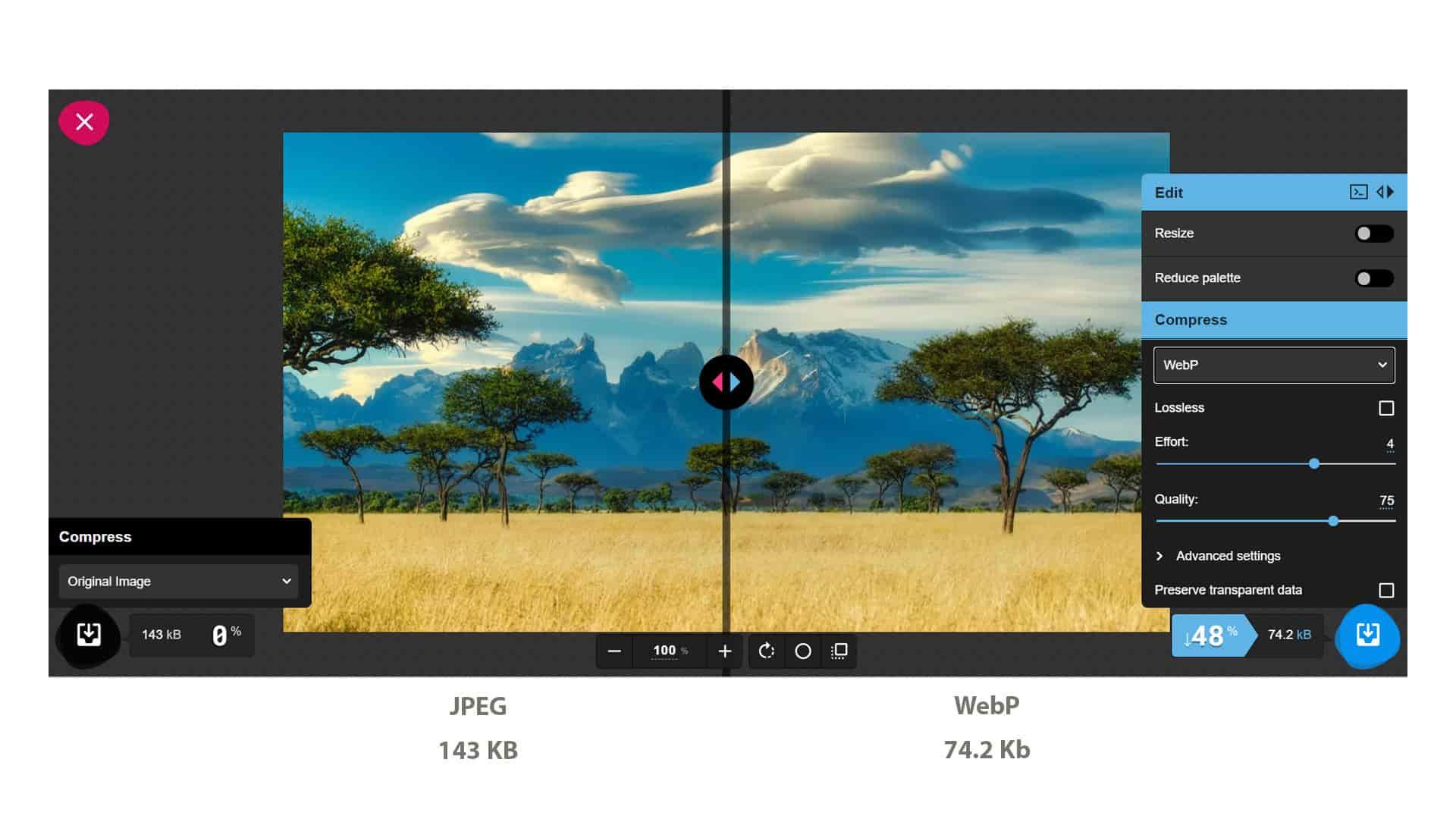 نحوه تبدیل تصاویر به WebP